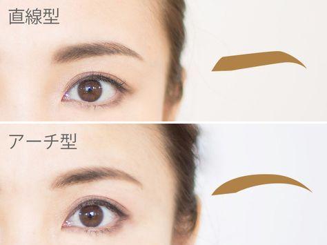 """色気がないのが悩み…」色っぽい表情を作る3つの眉メイクルール ... 眉の形には大きく分けて2種類存在します。ひとつめは眉を直線的に描く""""直線型""""、ふたつめは眉を曲線的に描く""""アーチ ..."""