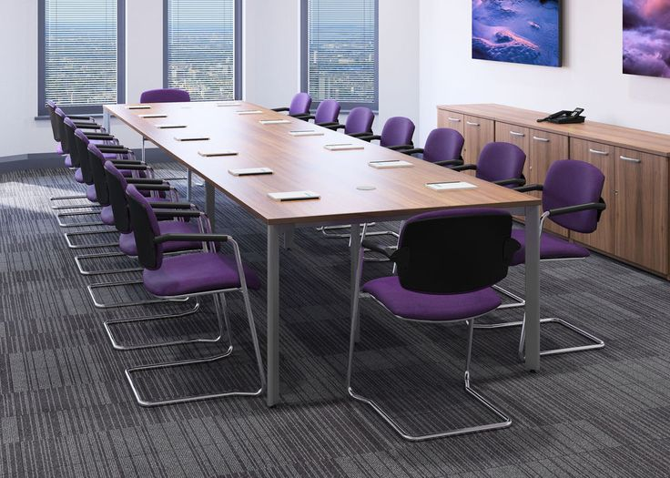 Sven 3.0 x 1.2 Metre Boardroom, Conference, Meeting Room Table - Finish Choice