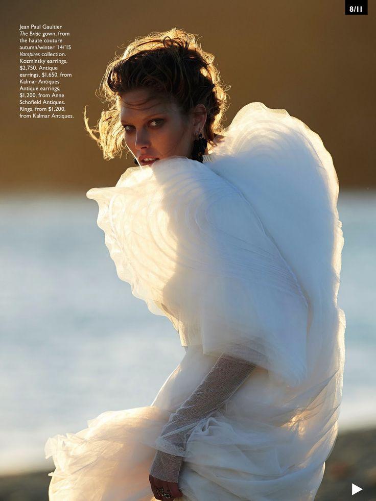 Catherine McNeil Vogue Australia October 2014
