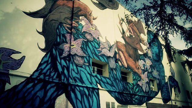 Bastardilla + Ericailcane @Modena Paulsen Paulsen (Festival della Filosofia / D406). Videoracconto della realizzazione dell'opera di Bastardilla ed Ericailc...