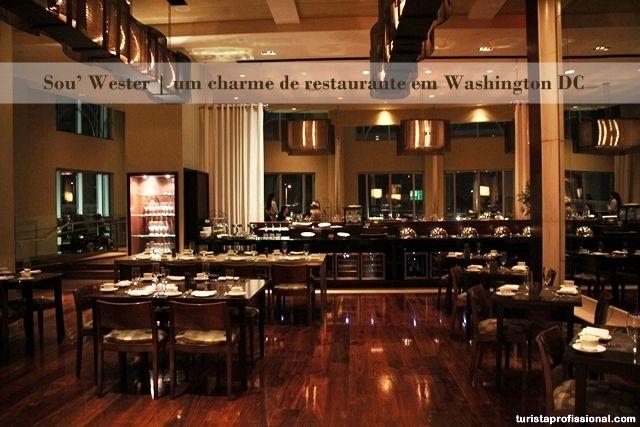Sou' Wester | um charme de restaurante em Washington DC