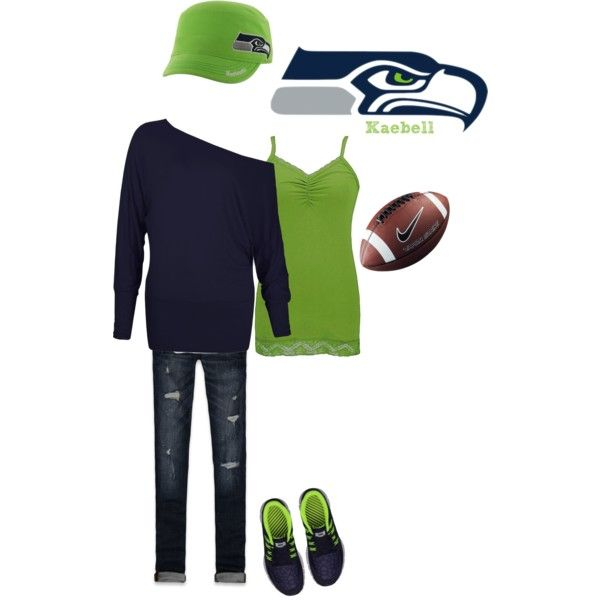 """""""Seattle Seahawks"""" by kaebell on Polyvore"""