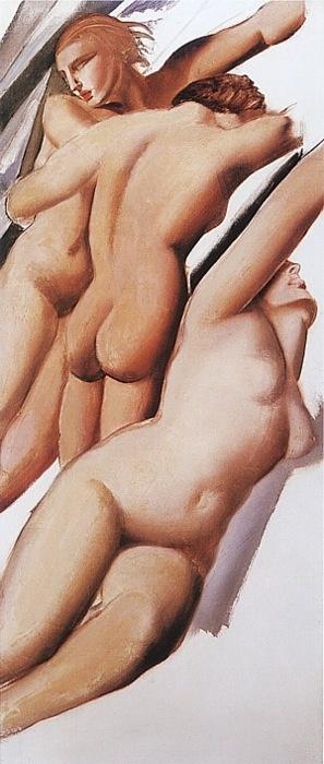 Tamara de Lempicka, Three Nudes, 1929