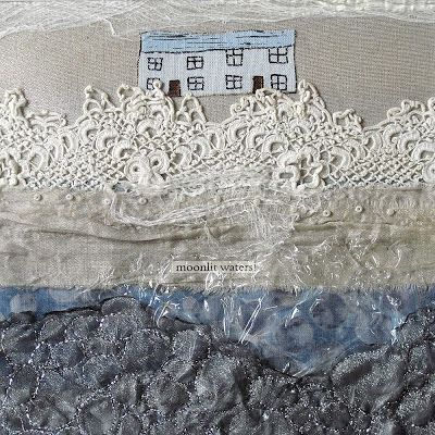 """CAROLYN SAXBY MIXED MEDIA TEXTILE ART: work from exhibition """"inspired to stitch"""""""