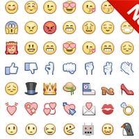 Nuevos emoticones para comentarios de facebook 2015