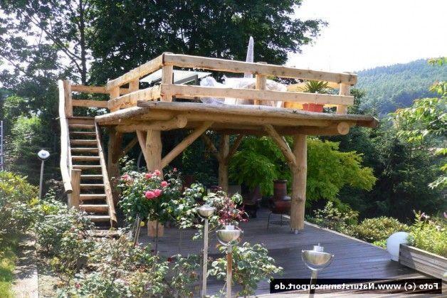 Naturstamm Carportbau Beratung Planung Und Montage Ihr Carport Begehbar 2018 Terrassen Deko Garten Ideen Steinmauer Garten