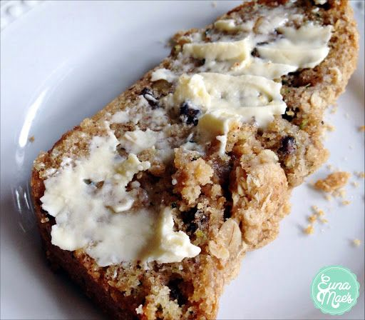 Zucchini Bread With Brown Sugar & Oats Crumble Recipe on Yummly