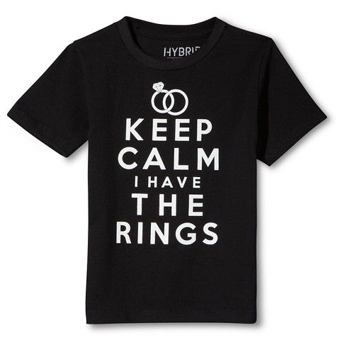 ring bearer t shirts keep calm - Google Search