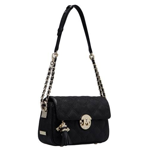 Flap style chain shoulder bag Create your own luxurious elegance with METROCITY's best-selling handbag line