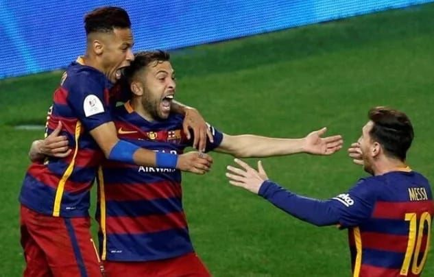 Barcelona have won the Copa Del Rey for the 2015/2016 season The final against Sevilla was a battle with extra-ordinary prowess Jordi Alba and Neymar scored in the extra-time to hand Barcelona the title  It was fight to finish in the final match of the 2015/2016 Copa Del Rey between La Liga champions Barcelona and Europa League champions Sevilla. Jordi Alba and Neymar scored extra-time goals to ensure Barcelona completed their season with a double having won the La Liga earlier.There were 2…