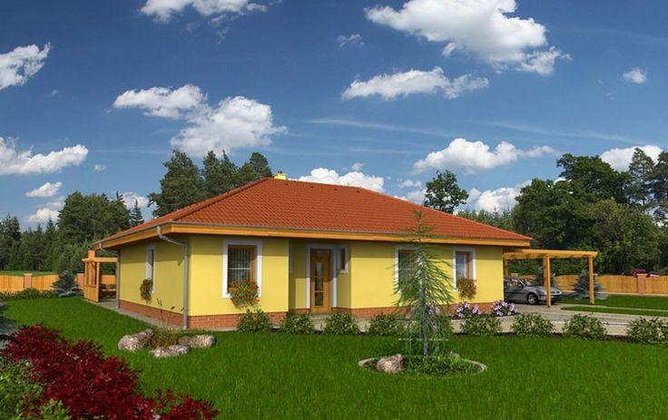 Бунгало-4 площадью 110 м2 площадью с ценой на строительство теплого дома 1 572 000 РУБ.
