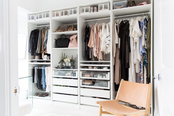 OUR CONDO TOUR - STEPHANIE STERJOVSKI  FUll look of the closet wall