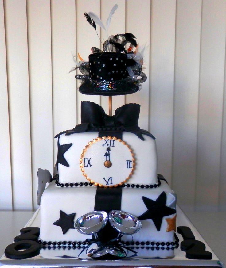 New Year Cake Theme New year's cake, Cake, Adult