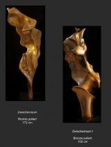 Skulpturen aus Bronze.......  vertreten von der Kunstagentur Bild & Raum    ZWISCHENRÄUME