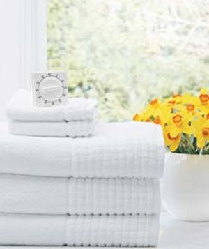 Question: How do you remove the musty smell from towels that have been damp too long?