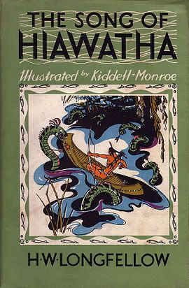 best the song of hiawatha images baby books  hiawatha edition illustrated by kiddell monroe