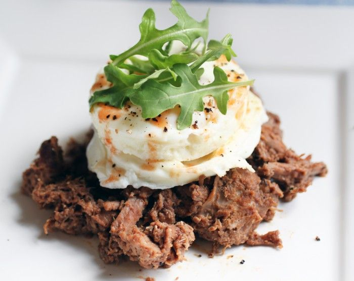 Slow-Cooked Steak and Eggs (21DSD)   @The Food Lovers' Primal Palate