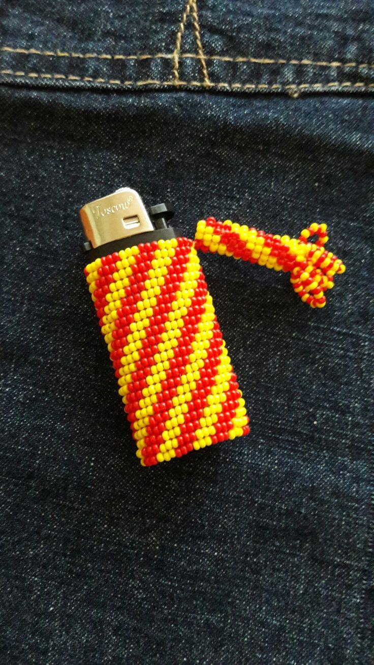 Galatasaray Çakmak kılıfı #çakmakkılıfı #Lightercover#beading