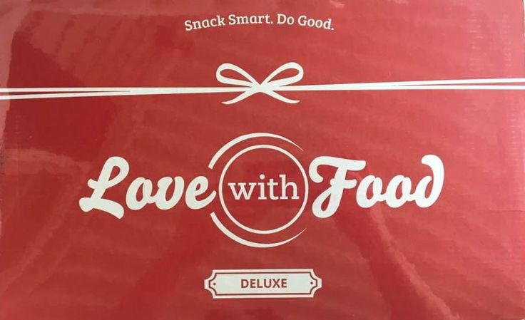 Love with Food is a snack subscription box available in three sizes. Tasting Box, Deluxe, and Gluten Free. We were sent the May Deluxe Box for review. We love the variety that you get in this box. We got to try many new to us snacks.