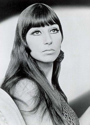 Singer Cher Bono in 1966, a year after the release of Sonny & Cher's number