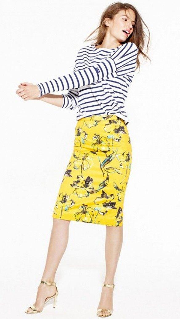 J cre parisian yellow dress makeup