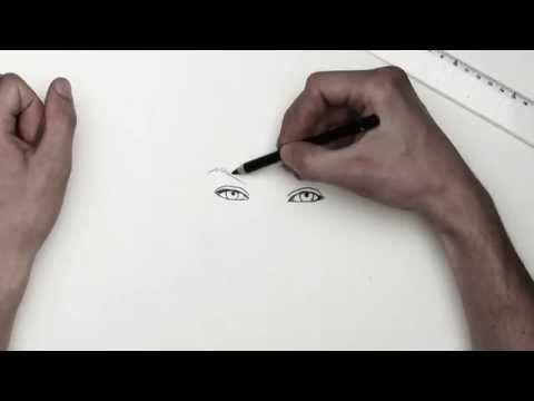 Zeichnen lernen - basics 002 - Skizzieren/sketch (german narrated) - YouTube