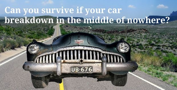 The complete car survival Kit you should never neglect or you will regret.