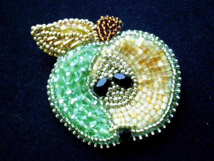 Яблочки | biser.info - всё о бисере и бисерном творчестве