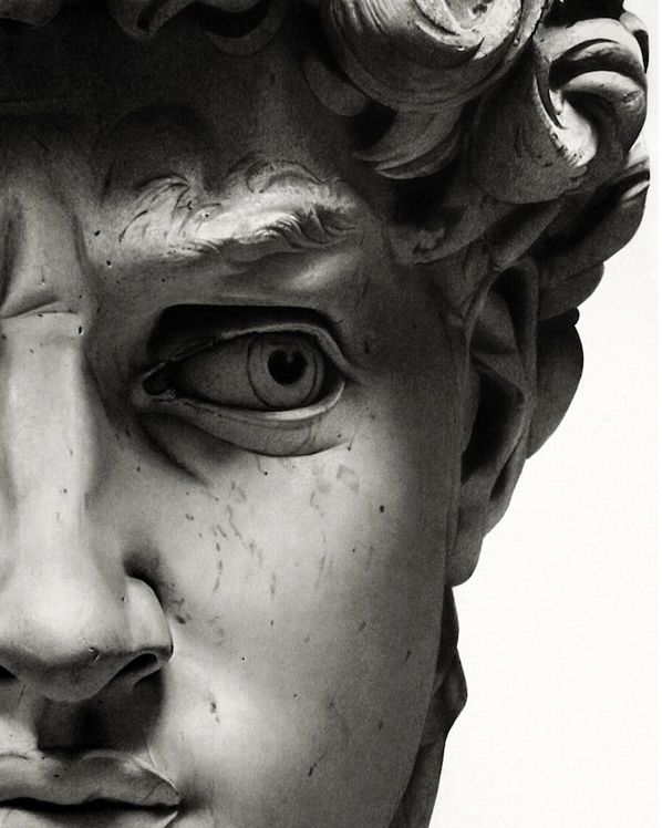 the sculptures of david and the origin of art Start studying analyzing the meaning of art learn vocabulary, terms, and more with flashcards  david (above), different from other famous sculptures of david c.