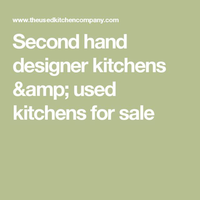 Second Hand Designer Kitchens U0026 Used Kitchens For Sale