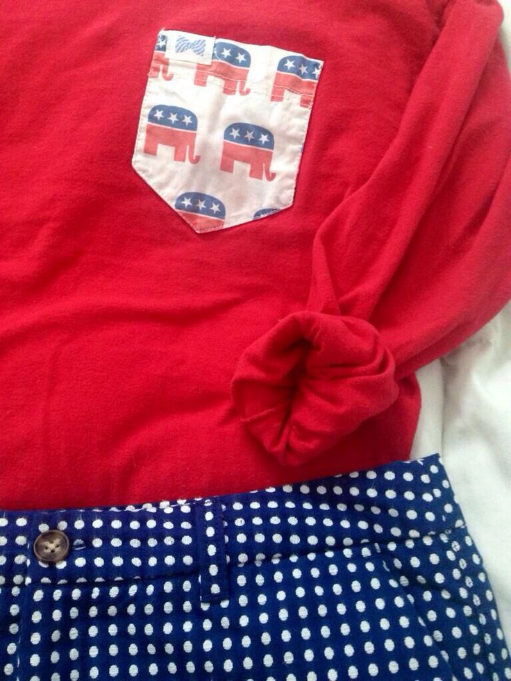 Republican frat collection short sleeve tee