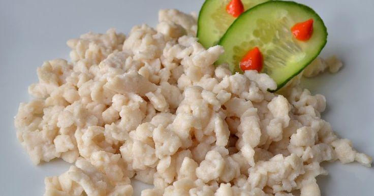 Ismét egy kívánság recept a terítéken. :) Ezt a nokedlit bátran ehetik a fogyni vágyók, tejérzékenyek, tojásallergiások, gluténérzékenyek...
