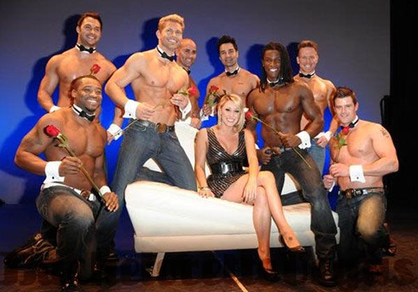 Vegas excaliber male strip show