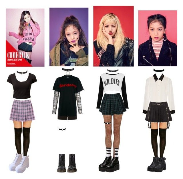 Blackpink Outfit Ideas: Boombayah Outfits In 2018