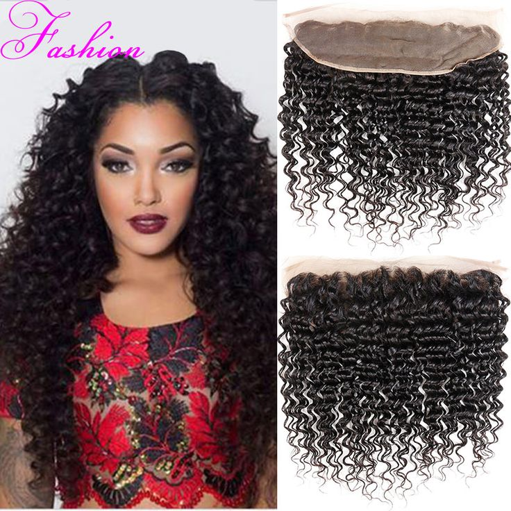 Lace Frontal Closure 7A Brazilian Deep Wave Ear To Ear Lace Frontal Closure 13x4 Virgin Human Hair 1 Pcs Closure Deep Wave Hair-in Lace Frontal from Health & Beauty on Aliexpress.com | Alibaba Group