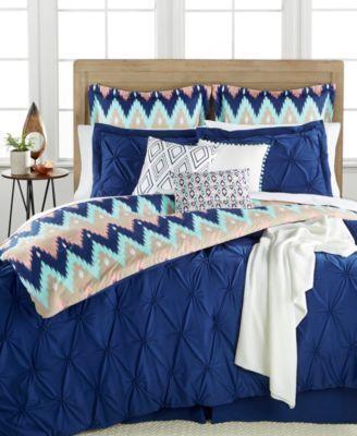 Aztec Stripe 10-Pc. Queen Comforter Set | macys.com