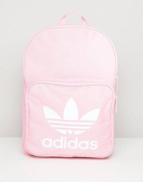 bb36526475ad Classic backpack in pink by Adidas Originals  adidasoriginals  backpacks