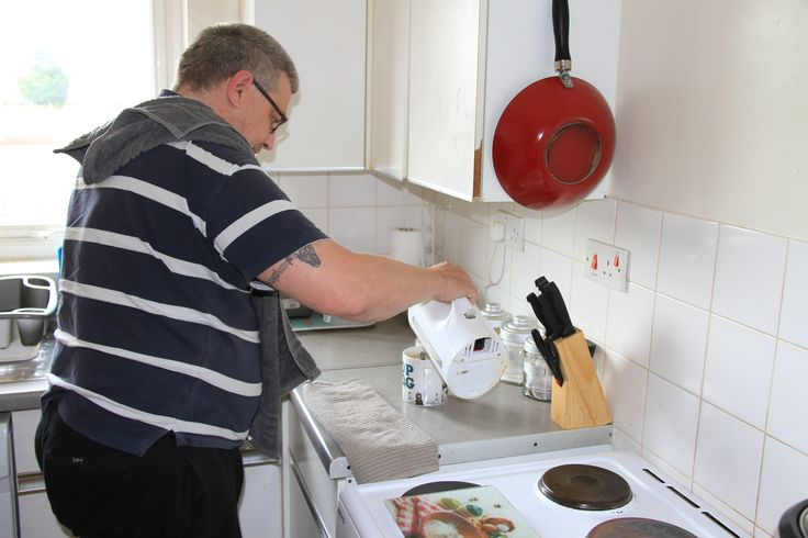 We support and help people with basic living skills such as cooking