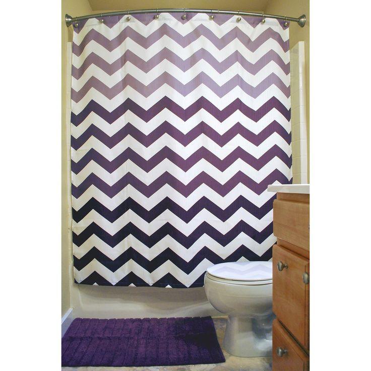 best 25+ chevron shower curtains ideas on pinterest | gray chevron