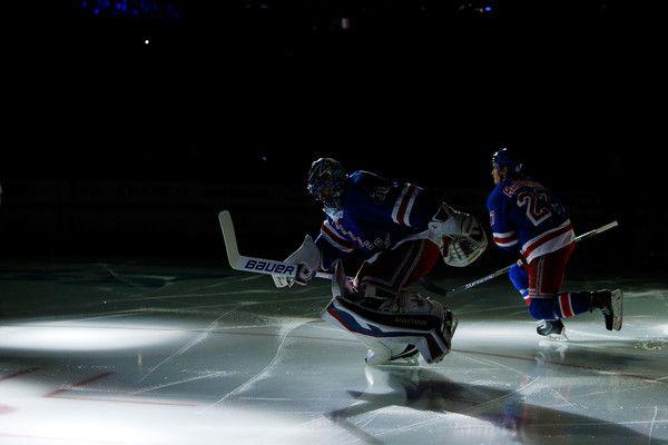 Henrik Lundqvist and Ryan McDonagh Photos: Washington Capitals v New York Rangers - Game One