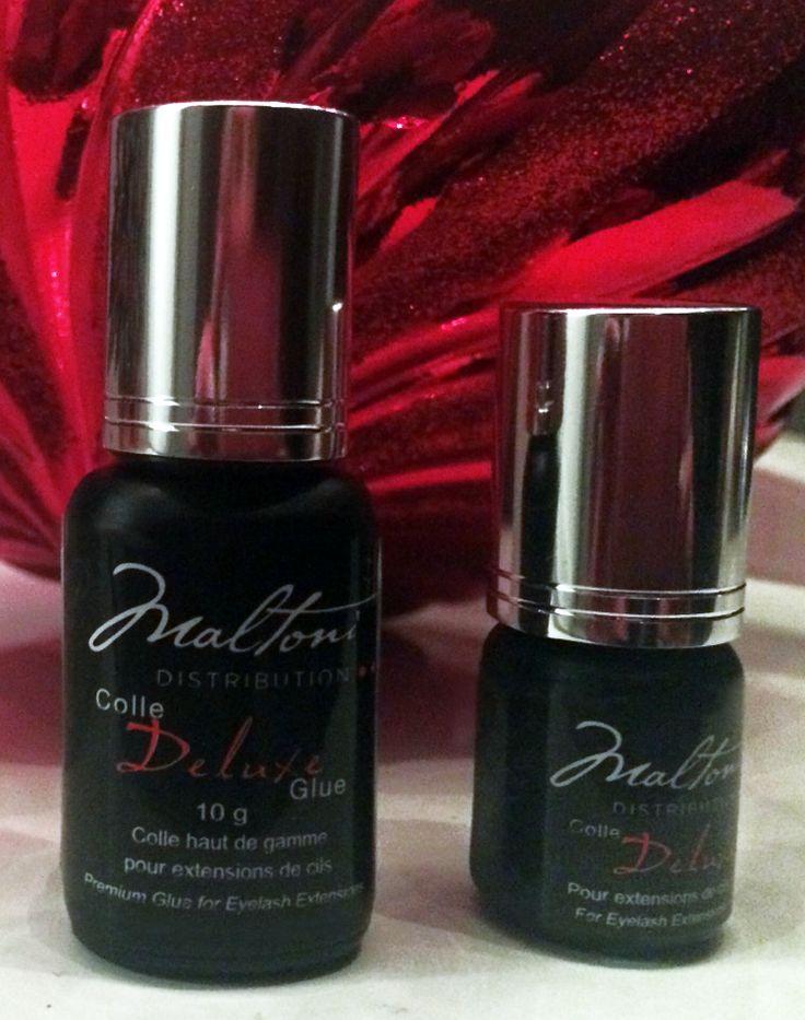Deluxe Eyelash Extension Glue  C$69.95  maltonidistribution.com/ #eyelashes #eye #lashes #makeup #maltoni #maltoniproduct #maltonidistribution #glue