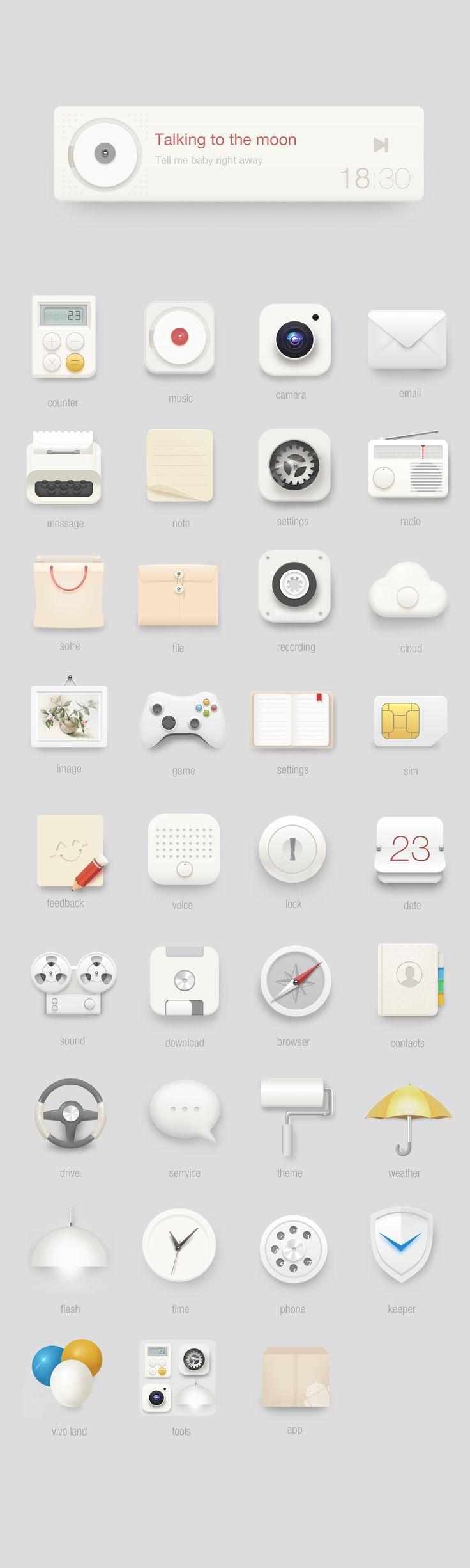 Icons: