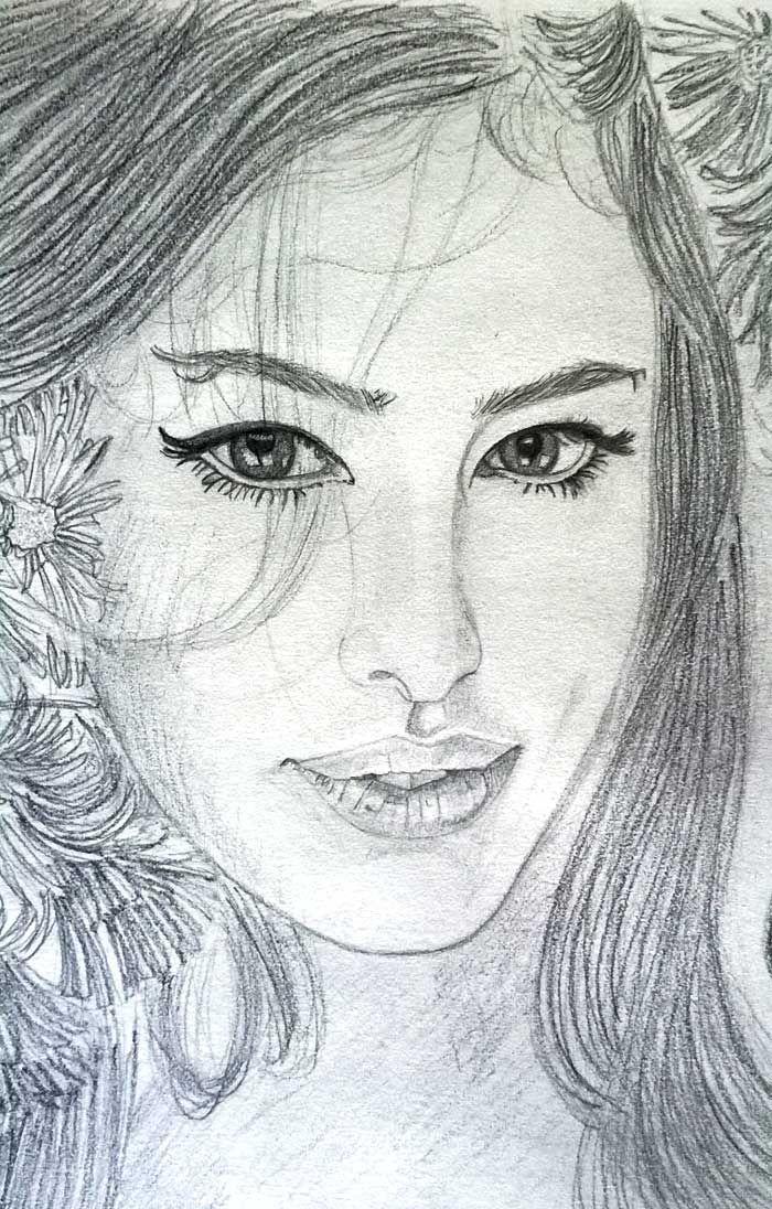 Beautiful Girl. Do you like? Bellissima ragazza, vi piace?    #art #drawing #pencildrawing #arte #disegnomatita