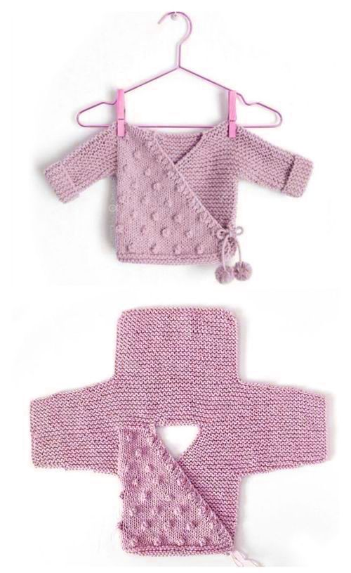 Best 11 How to make a Knitted Kimono Baby Jacket …