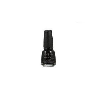China Glaze Crackle Collection Black Mesh $0.05