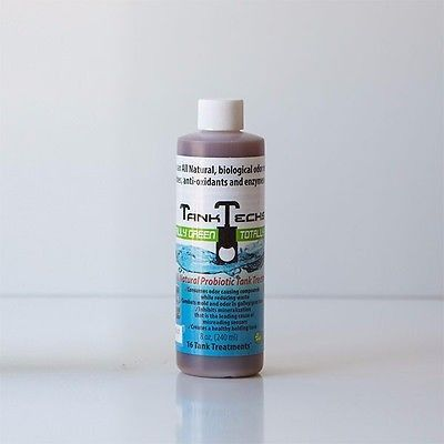 RV Holding Tank Cleaner Treatment Black Gray Water Marine Portable Camper 8 oz