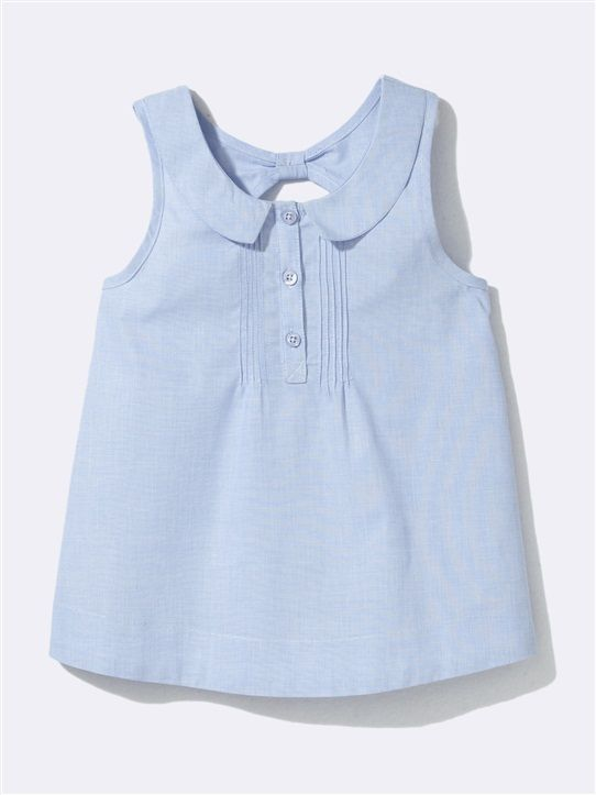 Blue sleeveless top Cyrillus SS 2014