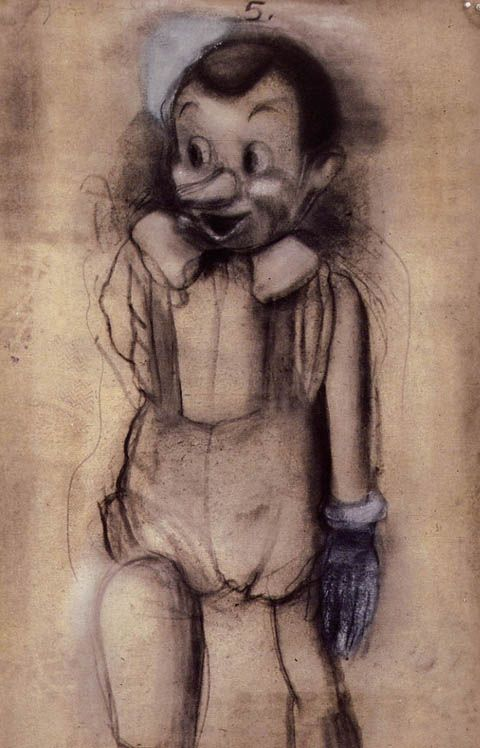Drawing by Jim Dine