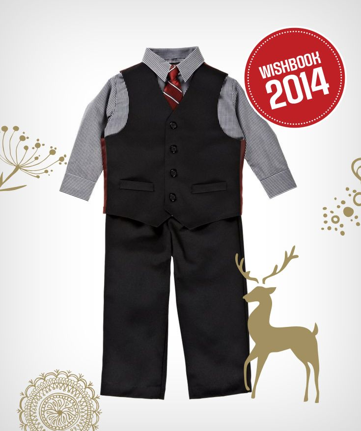 Comfortable formal holiday wear for your little boy to wear