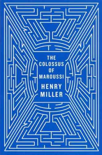The Colossus of MaroussiCovers Book, Book Covers Design, Covers Collection, Book Book, 3D Book, Colossus, Maroussi Second, Travel Book, Henry Miller